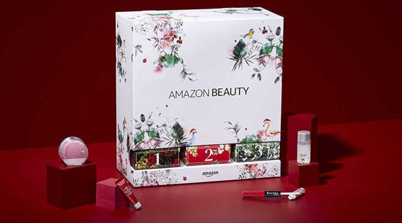 calendario dell'avvento beauty di Amazon Natale 2018