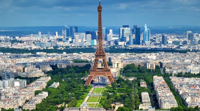 Ville Lumiere tour Eiffel