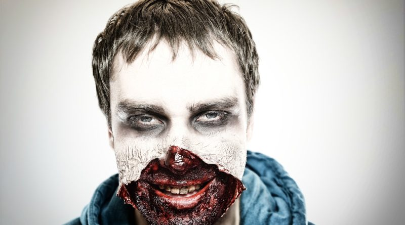 Trucco Halloween Uomo